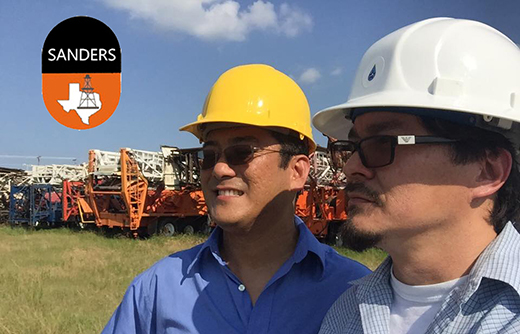 Christopher C Sanders and Matthew Yeh of Sanders Drilling